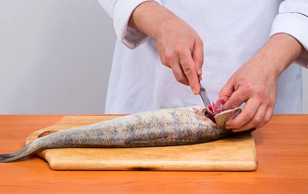 Подготовка рыбы к кулинарной обработке