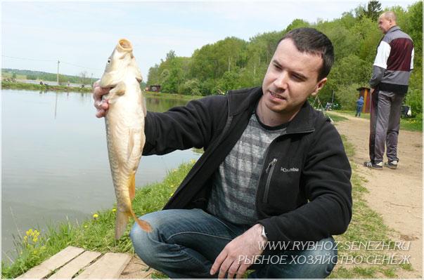 рыбалка в Подмосковье - летняя на карпа