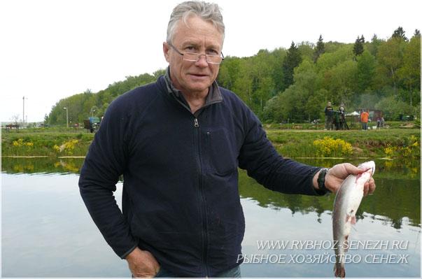 русская рыбалка форель