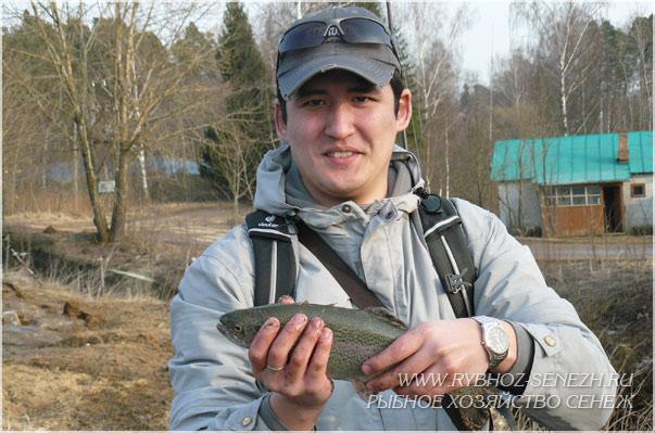 рыбалка форель подмосковье