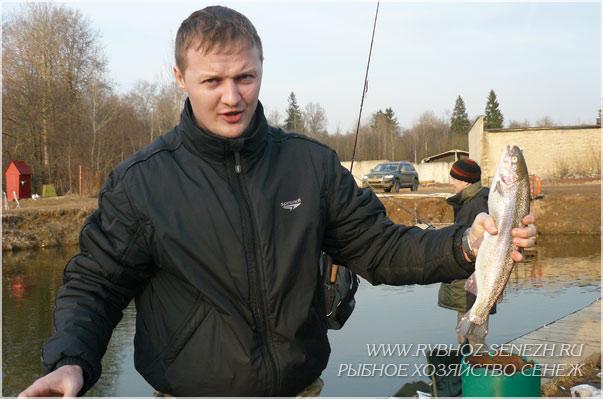платная рыбалка форель подмосковье