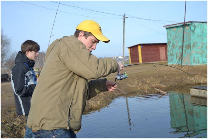 Trout Area Fishing - первый опыт