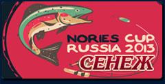 Nories Cup Russia 2013 Турнир по спортивной ловле форели спиннингом по системе Помал-Отпустил 19 октября 2013г.