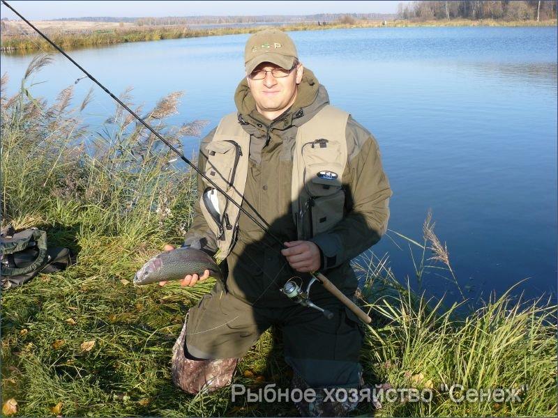 Рыбалка на Сенеже в Подмосковье